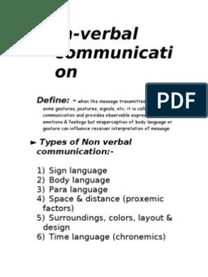 Language pdf of body types Body language