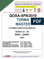 Módulo 3 - Máster 2019