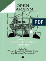 BONEFELD, Werner (org.). Open Marxism vol. 1 - Dialectics and History.pdf