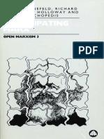 BONEFELD, Werner (org.). Open Marxism vol. 3 - Emancipating Marx.pdf