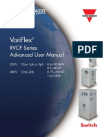 Carlos Gavazzi Rvcf Drive Advanced User Manual