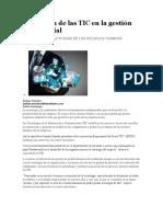 Aplicación de Las TIC en La Gestión Empresarial