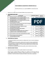 74882101 Terminos de Referencia Carpinteria Metalica