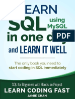 SQL Learn SQL (Using MySQL) in One Day and Learn It Well. SQL for Beginners With Hands-On Project
