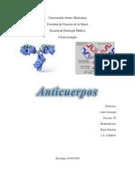 Informe de Anticuerpos