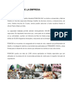 Brochure Instituciona y Comercial