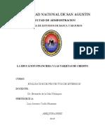 Ccallo Huamani Luis Antonio - Educacion Financiera y Tarjetas de Credito