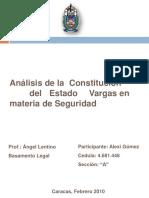 Constitucion de Vargas