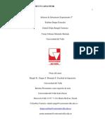 Informe Experimento Carga y Descarga de Un Capacitor