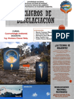 Peligros de La Desglaciación - Geomorfología - clase