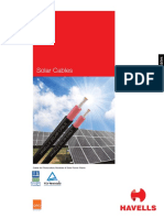 Solar Cable Catalogue