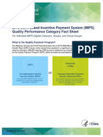 2019 MIPS Quality Performance Category Factsheet