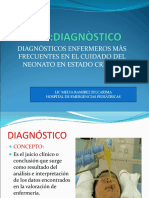Diagnòstico de Enfermeria
