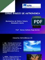 02 Curso Básico de Astronomia - Movimentos Da Esfera Celeste - Movimento Diurno
