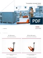 Transpaleta Manual Lifter