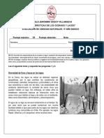 EVALUACIÓN DE CS NATURALES 5° ABRIL