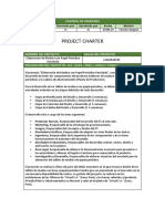 Ejemplo project charter