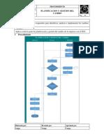 Procedimiento de Planificacion y Gestion Del Cambio