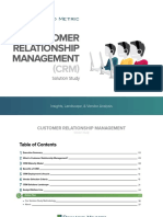 Crm Solution Study