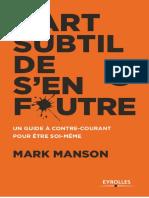 L'Art Subtil de s'en Foutre - Mark Manson (1)