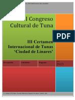 congreso de tunas
