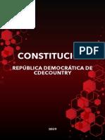 Constitución República Democrática de CdeCountry