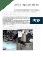 Lavadora Chaca Chaca Regina Gira Solo a La Derecha