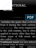 Traditional Music Artists