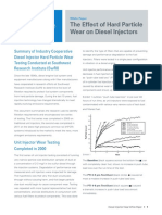 Diesel Injector Wear White Paper