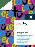 Informe de Gestión Anual AeioTU 2017