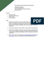 Trabalho de Doenças Cardiovasculares Disciplina de Clínica Cirúrgica II