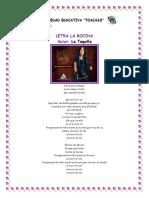 Letra La Bocina