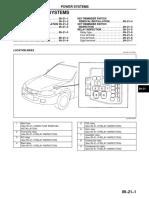Mazda 323f releji