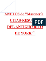 MASONERIA - Antiguo Rito de York