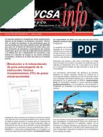 MYCSA INFO 01_Legislación Grúas Hidráulicas Articuladas