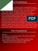 Pile Foundation - Presentation.ppt