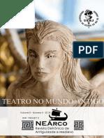 """Dossiê """"Teatro no Mundo Antigo"""""""