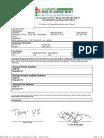 Medilodge of Port Huron - PrintInspection