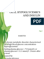 oral hypoglycemics agents