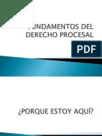 Fundamentos Del Derecho Procesal