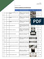 Inventario de Luminarias Led 30-10-2019