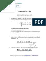 Ejercicios aproximación de funciones