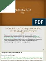 Norma Apa - Presentación