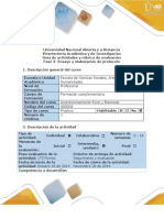 Guía de Actividades y Rúbrica de Evaluación - Fase 3 - Ensayo y Elaboración de Protocolo.