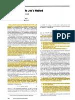 Método de Job. P5-JCE1986p0162
