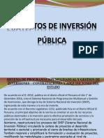 Semana 11 Proyecto de Inversion Publica