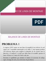 BALANCE  DE LINEA  ELEMENTAL