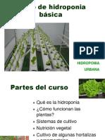 Curso de Hidroponia Básica (AGOSTO 2007)