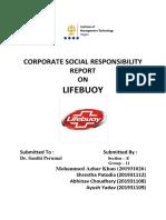 GRI Report on Lifebuoy