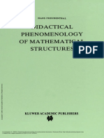 Didactical Phenomenology of Mathematical Structure... ---- (Intro)